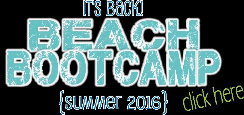 Beach Boot Camp Summer 2016