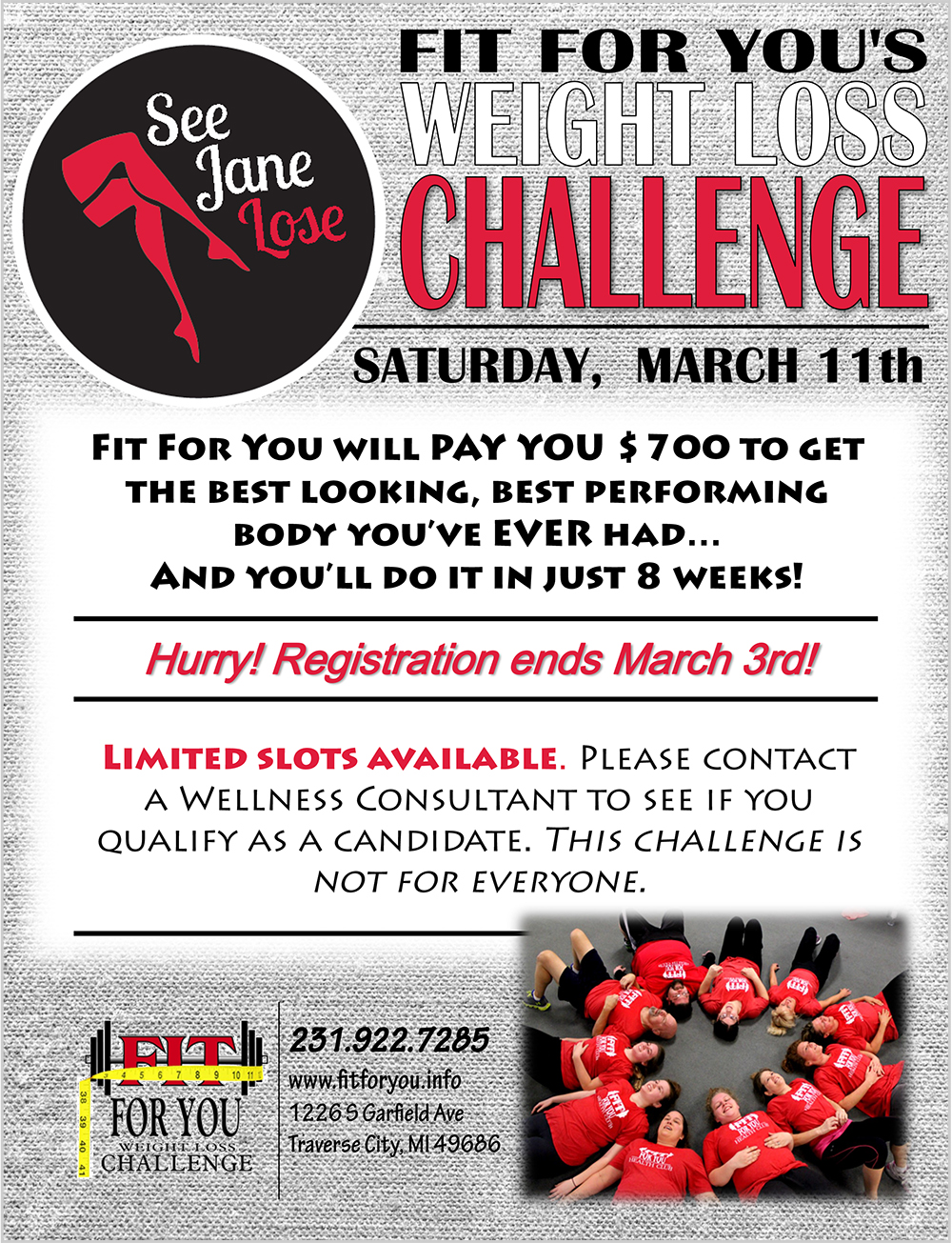 Fit for You Weight Loss Challenge