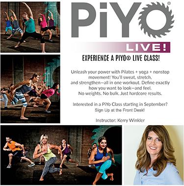 PiYo Class Flyer