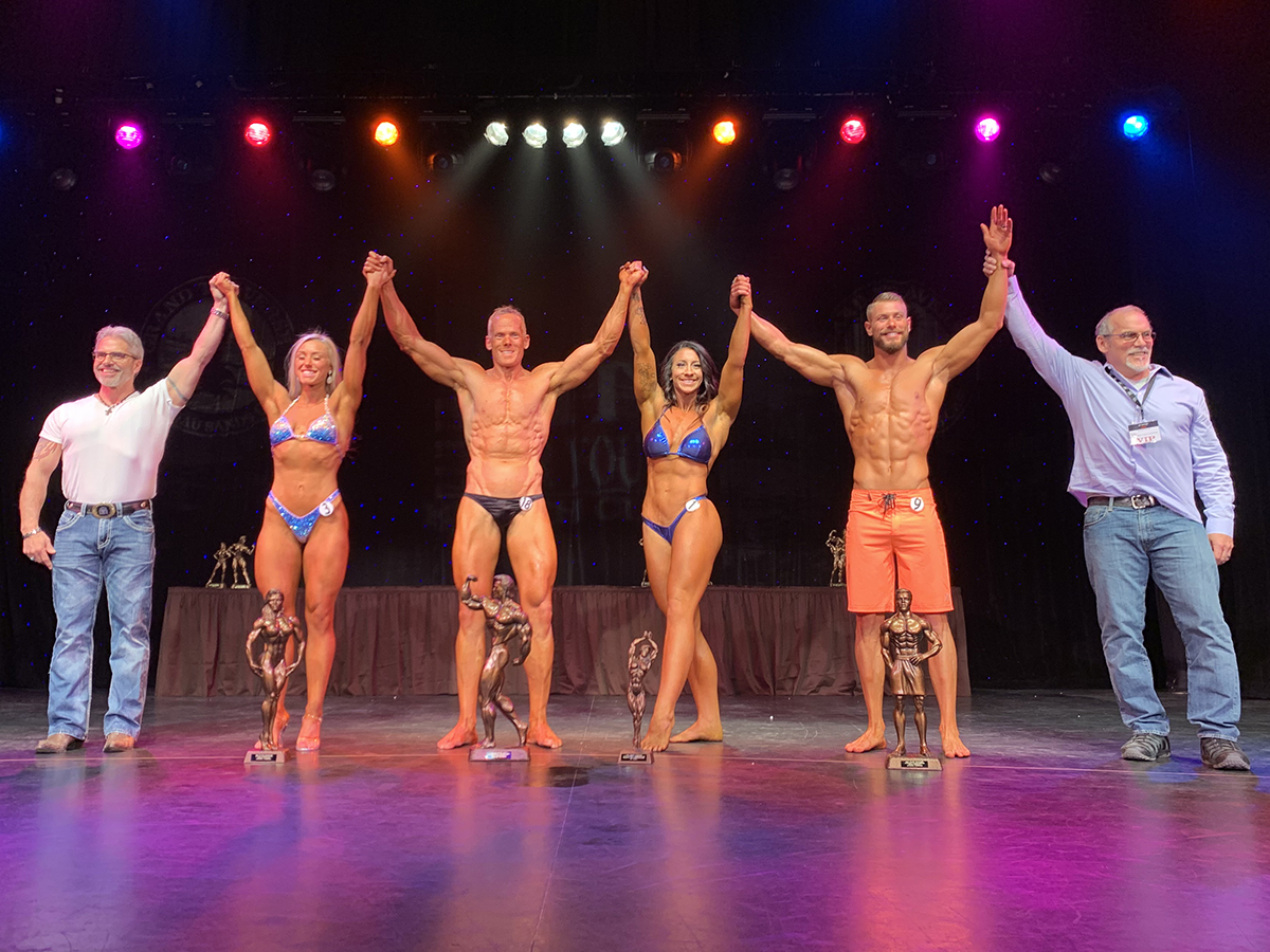 2019 Grand Traverse Bodybuilding & Figure Championship Overall Winners
